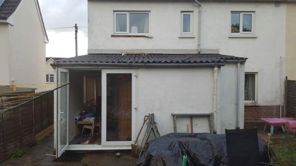 Extension Dursley before shot