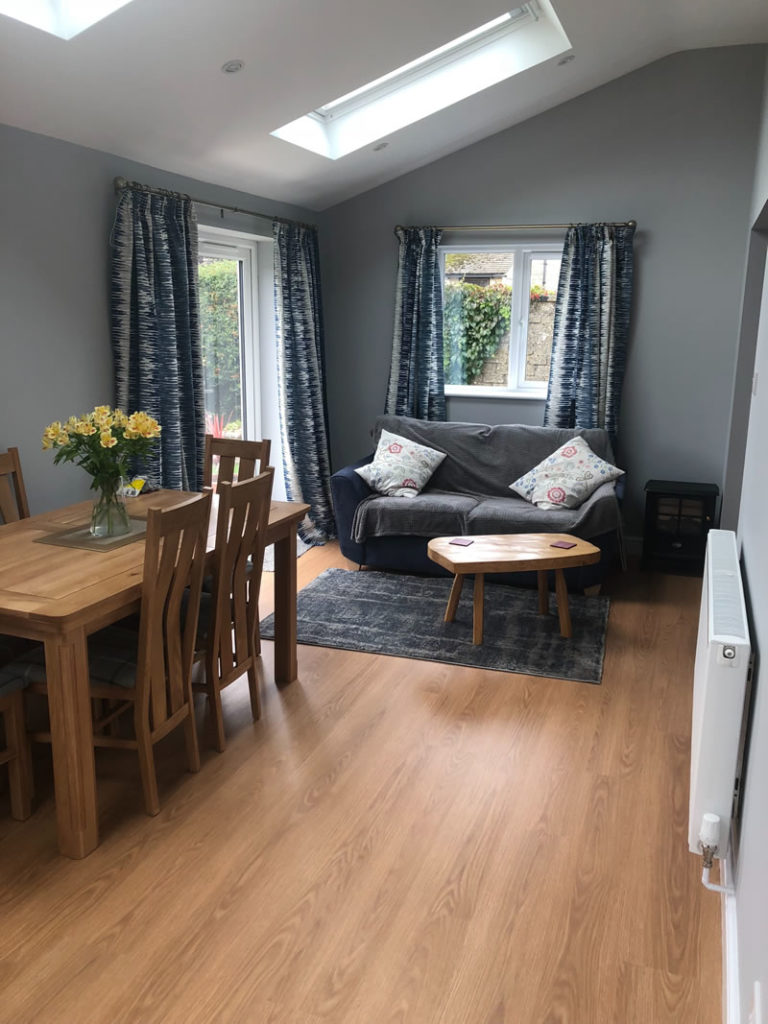 New Kitchen and Dining Room