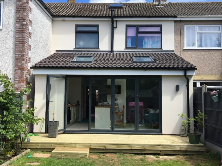 Kitchen Extension in Yate after shot