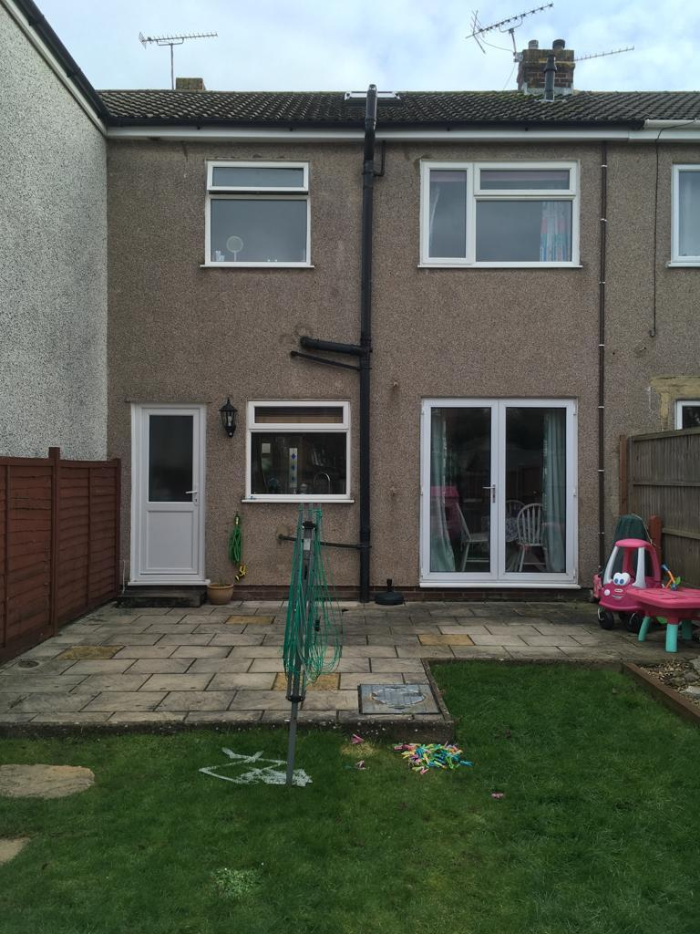 Kitchen Extension in Yate before shot